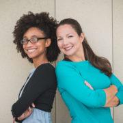 Ana Buckmaster and Kim Black