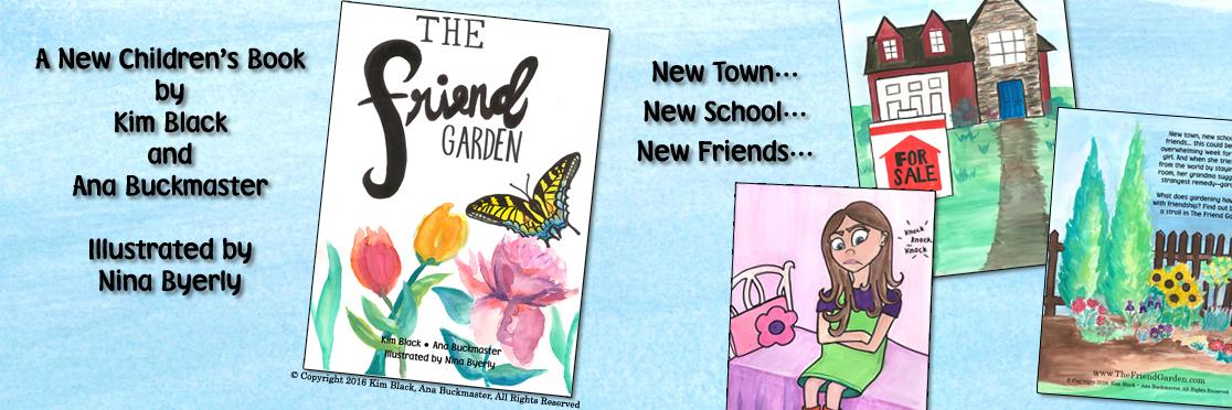 the friend garden childrens book